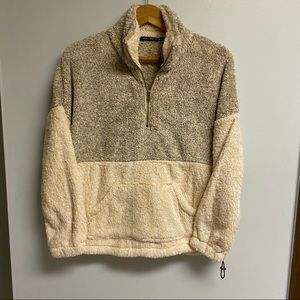 NWT BOUTIQUE SHERPA FROM DOE & RAE - S/M/L
